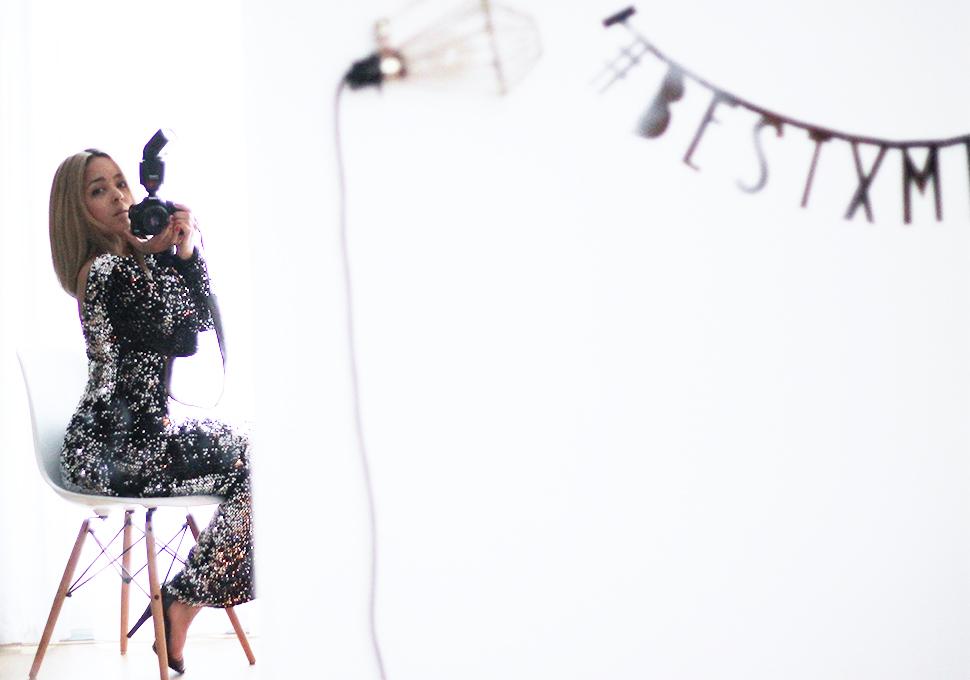 Jamie Li Christmas dress