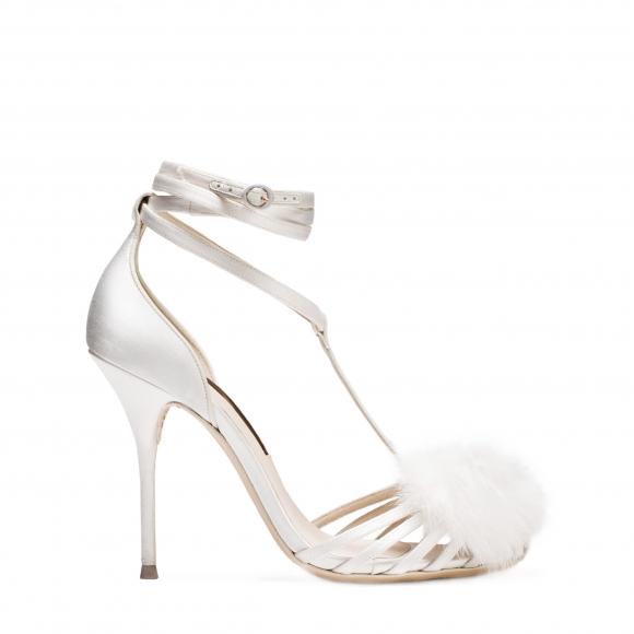 Sophia Webster Bridal Jojo Ivory Sandal