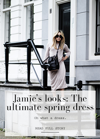 Jamie's look: maxidress